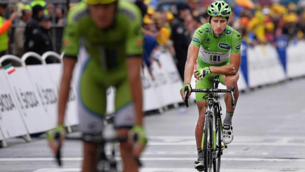IKKE BARE JUBEL: Peter Sagan var ikke på topp denne sesongen, men flere tror overgangen til Tinkoff-Saxo og Bjarne Riis vil gjøre underverker. FOTO: Tim De Waele/TDWSPORT.COM