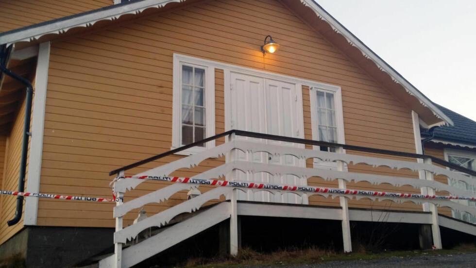JULEBORD: Julebordet ble arrangert ved Arbeideren i Melbu. Foto: Helge Korneliussen