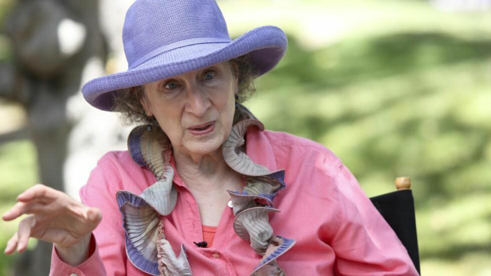 FESTIVALKLAR: Margaret Atwood kommer til litteraturfestivalen på Lillehammer til våren. Foto: NTB SCANPIX / Imeh Akpanudosen/Getty Images / LA Times/AFP