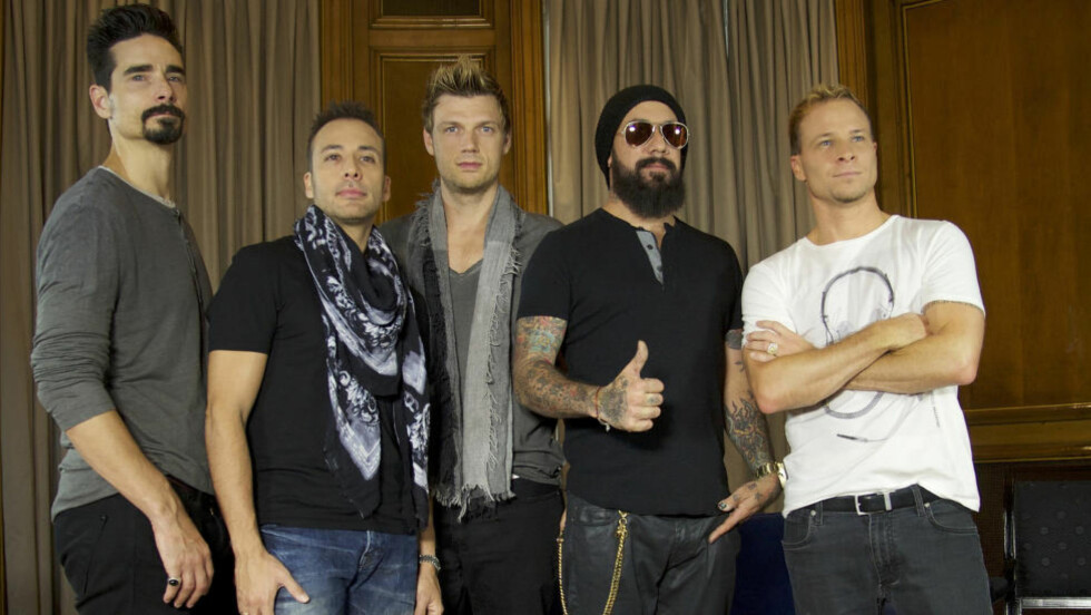 VERDENSKJENT: Backstreet Boys var ett av verdens største band på 90-tallet. Nå kommer en dokumentar om gutta. Foto: Stella Pictures