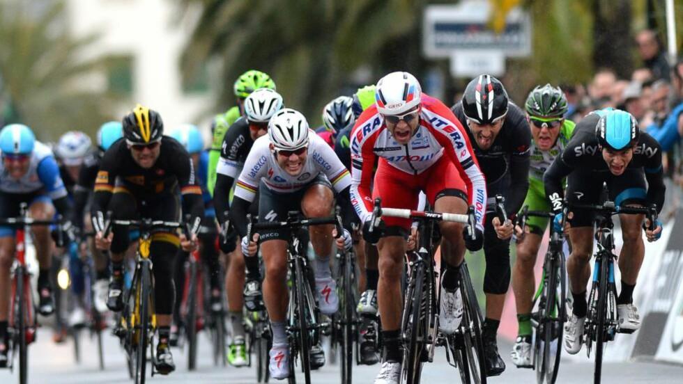 TILBAKE TIL SANREMO? Giro d´Italia kan bli hovedmålet til Alexander Kristoff neste vår. Da ryker i så fall Tour de France. FOTO: Tim De Waele/TDWSPORT.COM
