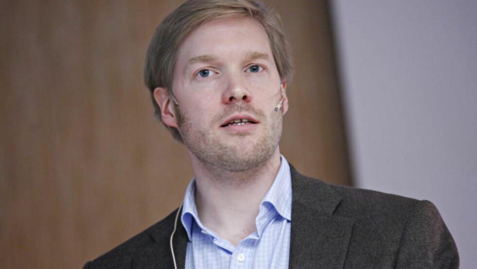 22.JULI-BOK: Historiker Hallvard Notaker skal skrive bok om Arbeiderpartiet og 22. juli. Foto: Anette Karlsen / NTB scanpix