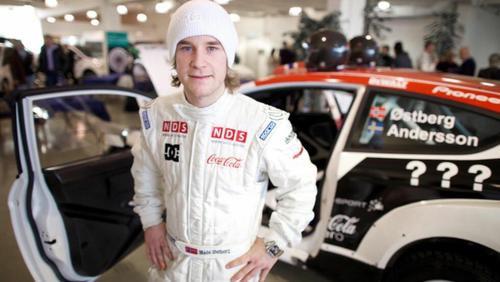 FORNYET KONTRAKTEN. Rallyfører Mads Østberg har fornyet kontrakten med Citroen og blir lagkamerat med Sebastian Loeb. Foto: Eirik Helland Urke / Dagbladet