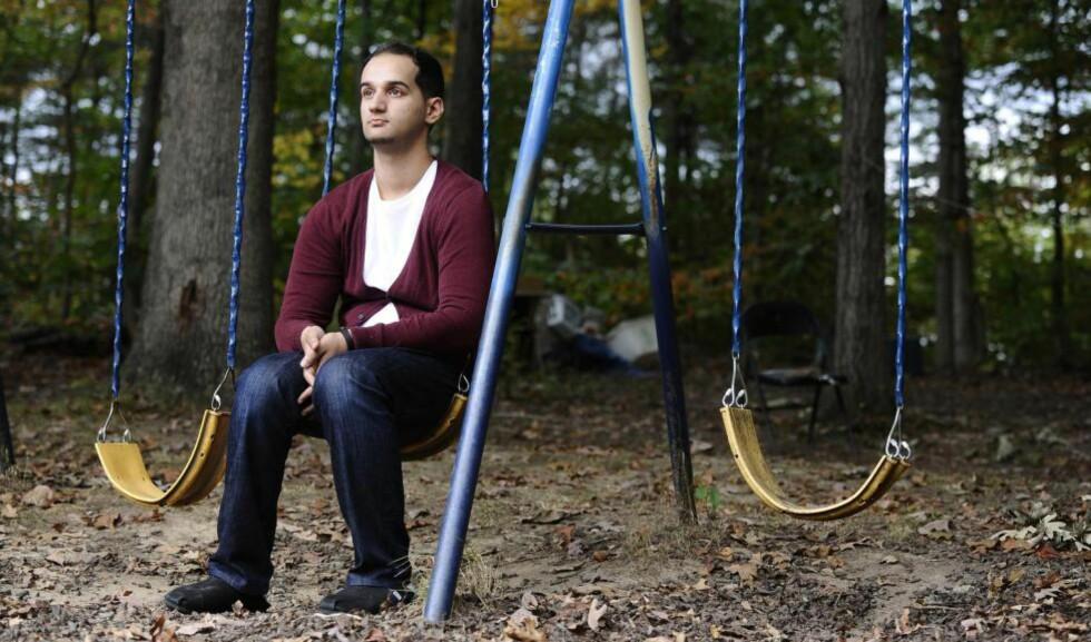 EN BRORS BØNN: Yusuf Syed vil ikke gi opp håpet om å få sin drapsdømte bror hjem igjen. Adnan Syed, gjort kjent gjennom podkasten «Serial» i høst, har sittet i fengsel i 14 år for drapet på ekskjæresten sin. Et drap han fremdeles nekter for å ha begått. Foto: Kim Hairston / Baltimore Sun  / TNS / SIPA USA