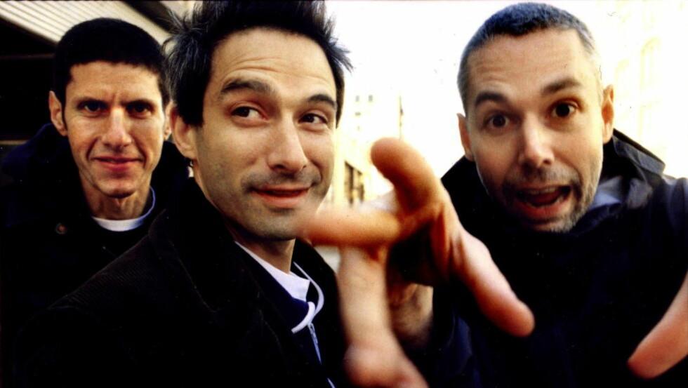 NY SEIER: Beastie Boys vant andre runde i retten. Fra venstre Adam «Ad-Rock» Horovitz, Michael «Mike D» Diamond og avdøde Adam «MCA» Yauch.
