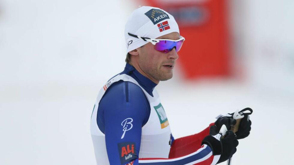 NEST BESTE NORDMANN: Petter Northug ble nest beste nordmann i fredagens sprintkvalifisering i Lillehammer. Finn Hågen Krogh splittet russisk duo på topp. Foto: Terje Pedersen / NTB scanpix
