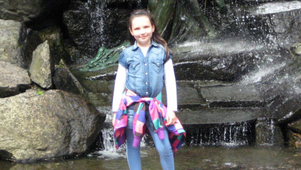 ANTAS DREPT: Politiet mener åtte år gamle Monika Sviglinskaja ble drept av sin tidligere stefar i 2011. Saken ble først henlagt. Foto: Privat / NTB Scanpix