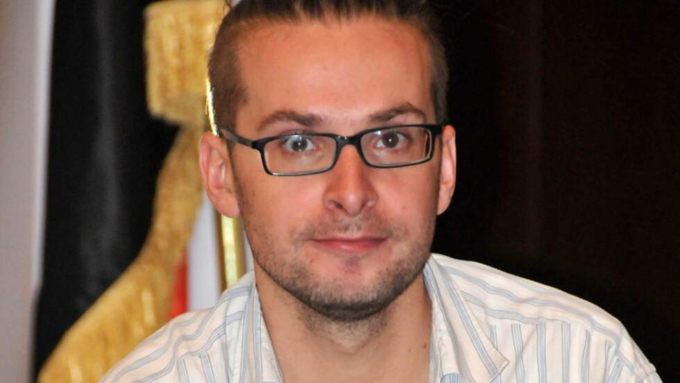 OMKOM: Den amerikanske journalisten Luke Somers døde under gårsdagens forsøk på å fri ham fra al-Qaidas fangenskap, bekrefter en jemenittisk tjenestemann overfor Reuters.Foto: EPA/YAHYA ARHAB