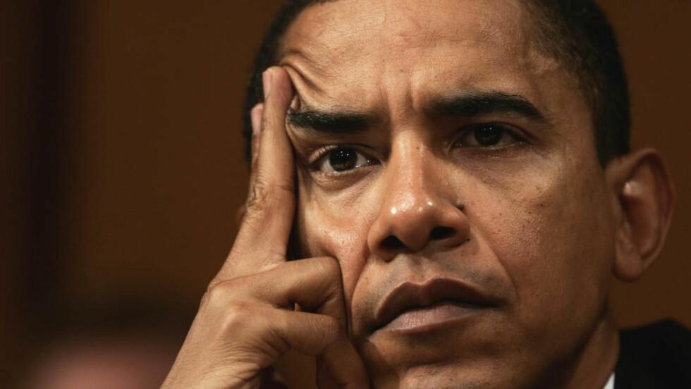 LØFTEBRUDD:President Barack Obama lovet å stenge Guantanamo-fangeleiren da han kom til makten for seks år siden. Det har han ikke klart, delvis på grunn av hindringer i Kongressen, men også på grunn av problemer med å finne ut hvor fangene skal slippes fri.  Foto: Gerald Herbert / AP