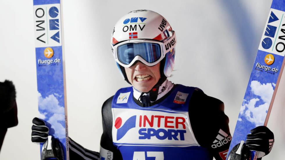 SJETTEPLASS:  Anders Fannemel ble nummer seks etter at finaleomgangen ble avlyst. Foto: Cornelius Poppe / NTB scanpix