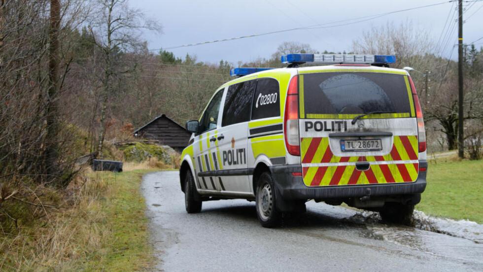 En mann i 50-årene døde etter å ha blitt utsatt for grov vold på Stord i Hordaland natt til søndag. Politiet har siktet en mann i 40-årene i saken. Foto: Henrik Mundal Andreassen / NTB scanpix