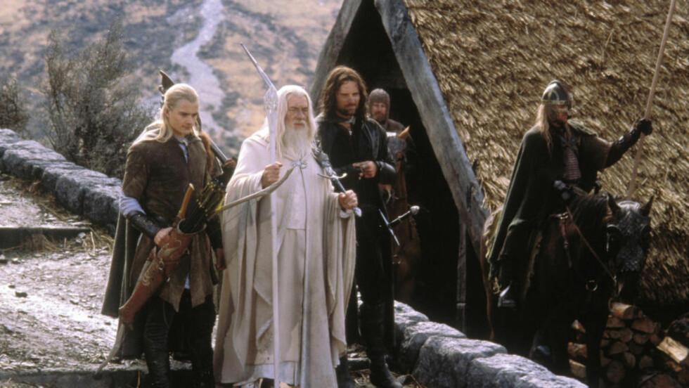 VANSKELIG Å FILME: JRR Tolkien hadde liten tro på en filmversjon av «Ringenes herre». Her fra filmen «Ringenes herre: Atter en konge» (2003). Foto: FILMWEB