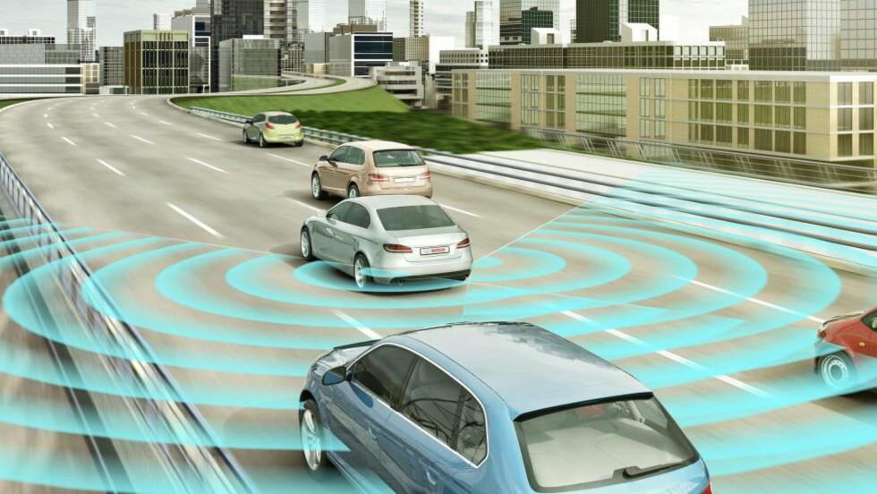 FØLGER MED: Sikkerhetskravene i nye biler øker. Men kan vi stole på utstyret?   Foto: ROBERT BOSCH