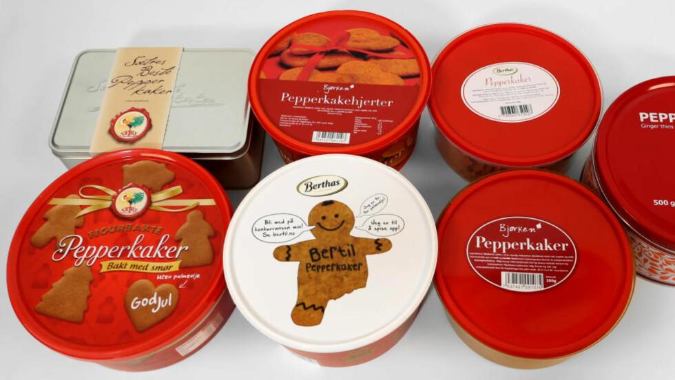 TRADISJON: Pepperkaker hører jula til. Dessverre er de fulle av kalorier, så det gelder å spise med måte. I år har de aller fleste produsentene  erstattet palmeoljen med annet fett. Foto: ERIK HELGENESET