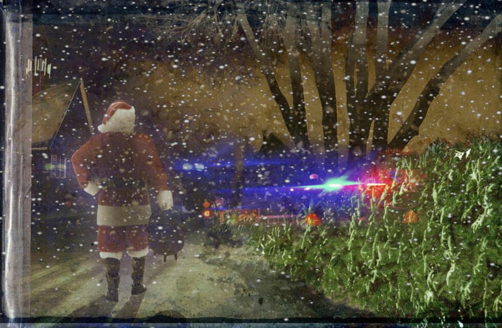 JULENOVELLE: Forfatteren Levi Henriksen har skrevet Dagbladets julenovelle. Illustrasjonene er av André Marthinsen