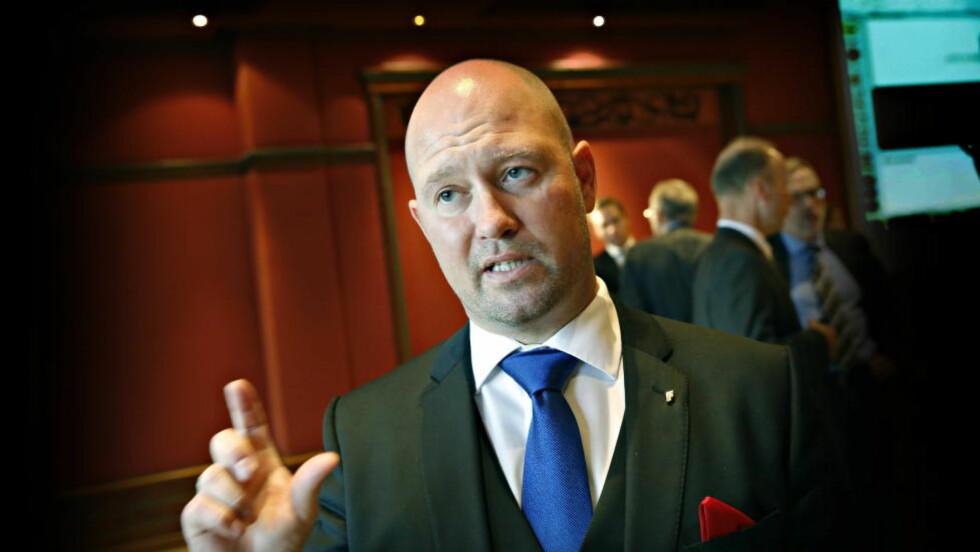 ASYLFORSKRIFT FRA I DAG: Justisminister Anders Anundsen opplyser til NTB at den nye asylforskriften trer i kraft fra i dag. Foto: Jacques Hvistendahl / Dagbladet