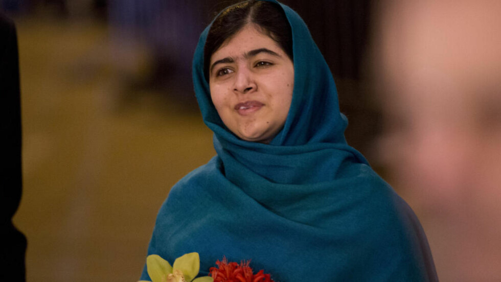 MOTTAR NOBELS FREDSPRIS: Pakistanske Malala Yousafzay blir i morgen tildelt Nobels fredspris blant annet for sitt arbeide for jenters rett til utdannelse. Foto: AP Photo/Matt Dunham/NTB Scanpix