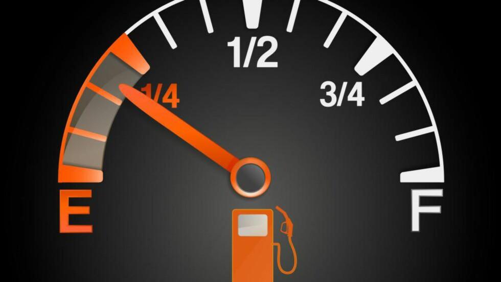 FEIL I PRAKSIS: Bilprodusentene tyr til alle lovlige midler for å kunne oppgi et lavt forbruk på nye biler.  Foto: PER ERVLAND / DINSIDE.NO