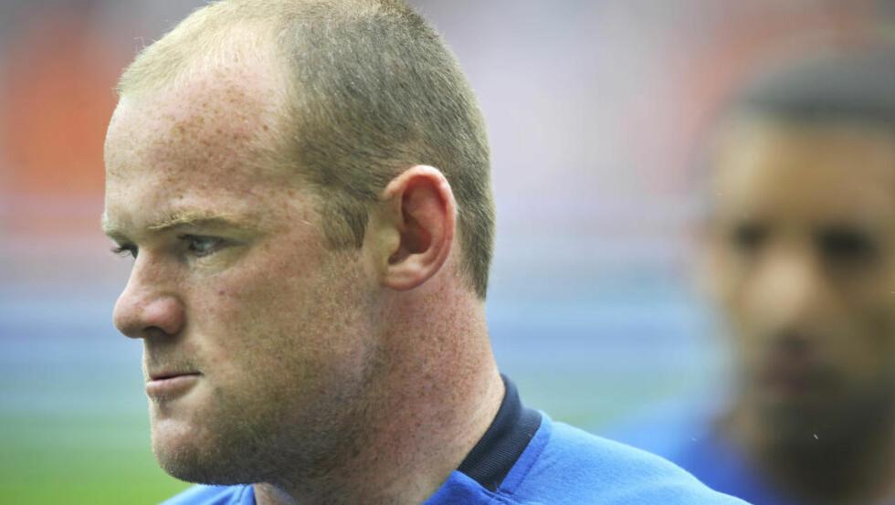 NY KAPTEIN. Wayne Rooney blir ny kaptein når England møter Norge. Han tar opp bindet etter Steven Gerrard.  Foto Hans Arne Vedlog / Dagbladet.