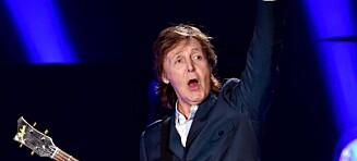 Paul McCartney ikke stor nok for Band Aid 30