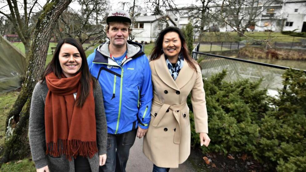 SYNS IKKE: Vibekke Berge (33), Trond S. Bertheussen (47) og Siv Haugland (44) er på Sunnaas sykehus for rehabilitering av kognitive vansker etter hjerneslag. De er med på et forskningsprosjekt om senfølgen fatigue - utmattelse. -  Livet framover vil bli lettere å takle, sier de. Foto: