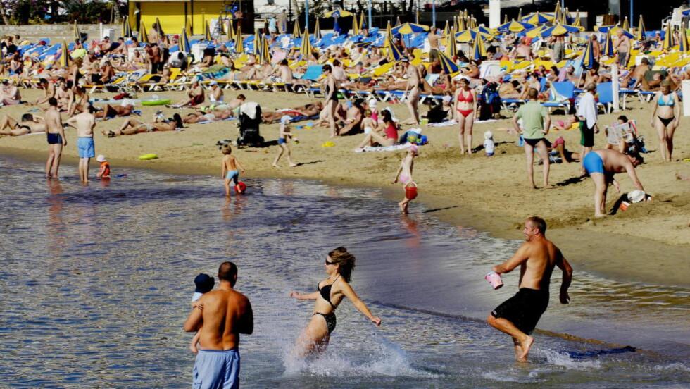 GRAN CANARIA: Puerto Rico på Gran Canaria er nordmenns favorittreisemål i vintersesongen.  Foto: JOHN TERJE PEDERSEN