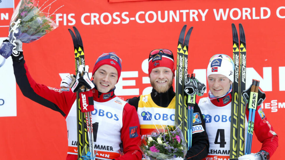 DOMINANS: De norske løperne har dominert voldsomt både på kvinne- og herresiden så langt i verdenscupen i langrenn. Foto: Terje Pedersen / AP Photo / NTB Scanpix