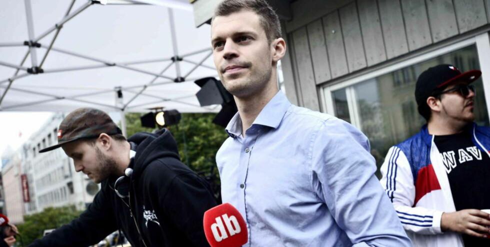 KREVER SVAR Rødt-leder og bystyrerepresentant i Oslo, Bjørnar Moxnes. Foto:Thomas Rasmus Skaug / Dagbladet
