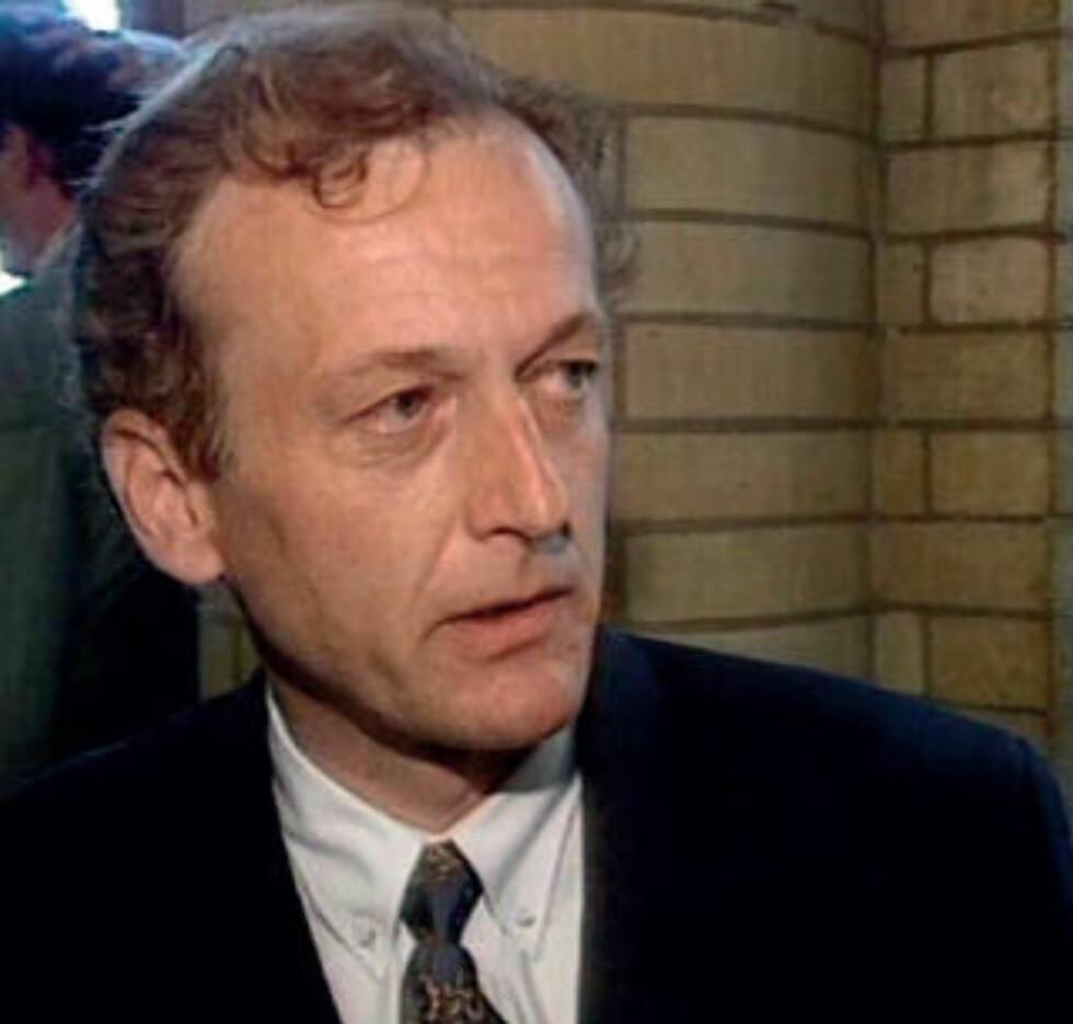 VILLE AVSLØRE FLYPLASS-JUKS: Ingeniør Jan Wiborg hevdet Gardermoen-tilhengerne jukset med målinger som viste tåke og dårlig sikt på Hurum. Han ble funnet død i 1994. Foto: Privat