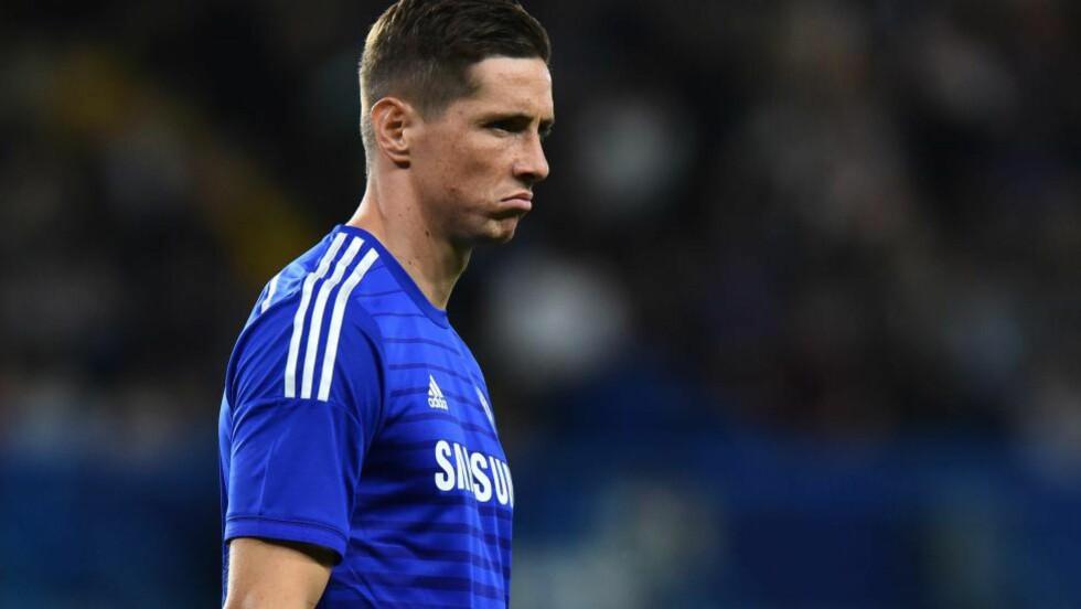 TIL ITALIA:  Fernando Torres lånes ut fra Chelsea til Milan. Foto: AFP PHOTO/BEN STANSALL/NTB SCANPIX