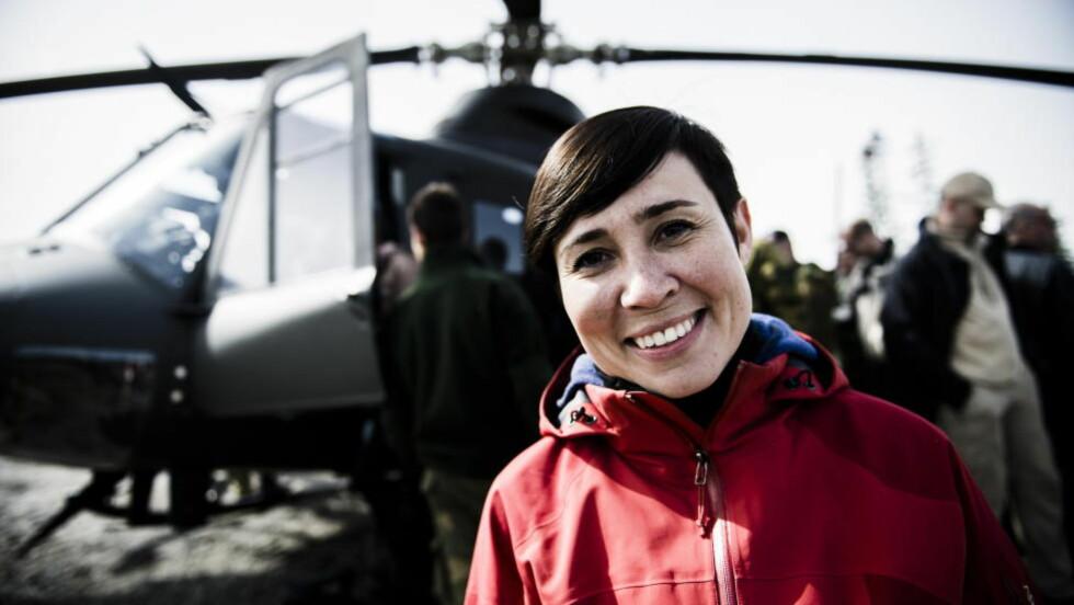 BEKREFTER: Forsvarsminister Ine Marie Eriksen Søreide. Foto: Håkon Eikesdal