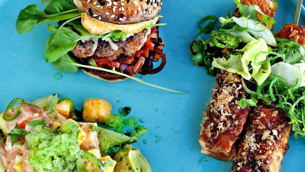 MUSIKK TIL MATEN: Synes du maten din smaker bittert? Da kan det lønne seg å sette på litt «søt» musikk. Foto: Mette Møller