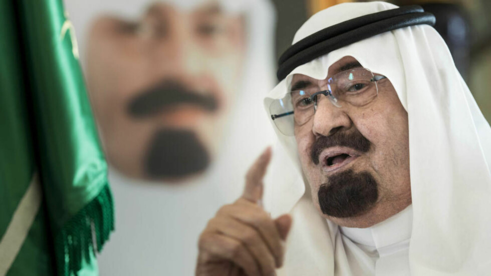 ADVARER: Saudi-Arabias kong Abdullah Bin Abdul Aziz frykter at terroristene snart vil ramme vestlige land med mindre man tar opp kampen med dem. Foto: Brendan Smialowski / NTB Scanpix