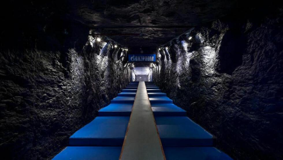 VEKKER OPPSIKT: Flere internasjonale medier har omtalt Schalke 04s særegne spillertunnel. Foto: Schalke 04