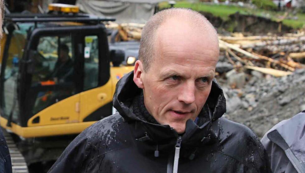 LITT UHELDIG: Nord-Frons ordfører Olav Røssum (Sp) sier til Dagbaldet at skrivet er utformet vel bastant, og at det er litt uheldig. Foto: Geir Olsen / NTB scanpix