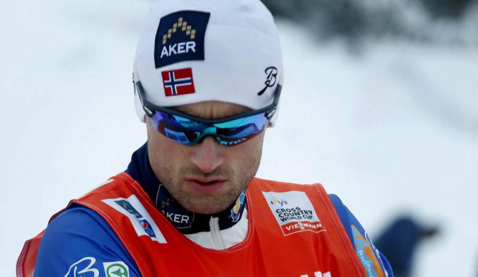 SNØMANGEL: Petter Northug jr. skulle få nyttige gjennomkjøringer i La Clusaz. Nå jobber FIS med å finne en annen arrangør. Foto: Terje Bendiksby / NTB scanpix