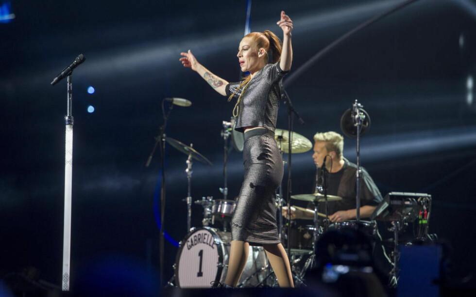 TOK SPEKTRUM MED STORM: Gabrielle Leithaug var i storslag under Nobelkonserten. Foto: Øistein Norum Monsen / DAGBLADET