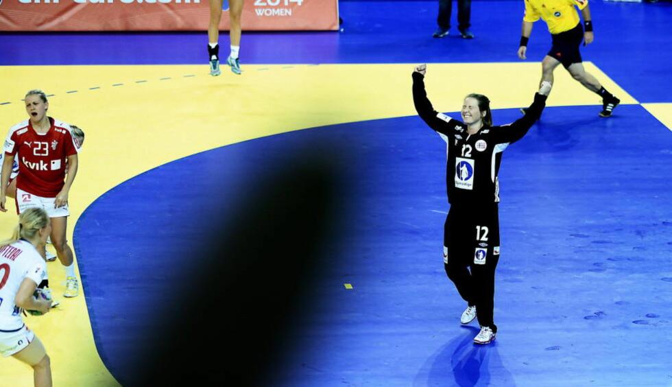SUPER-SILJE: Silje Solberg imponerte stort mot Danmark, og fikk favnen full av ros og bestemannspremier.