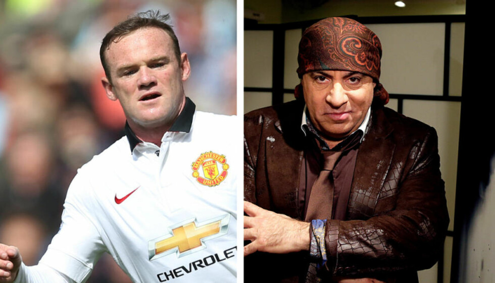 FAN: Det ryktes at treningene med Louis Van Gaal kan være meget harde. Kanskje det er derfor Wayne Rooney har koblet av med «Lilyhammer» i det siste. Foto: NTB Scanpix