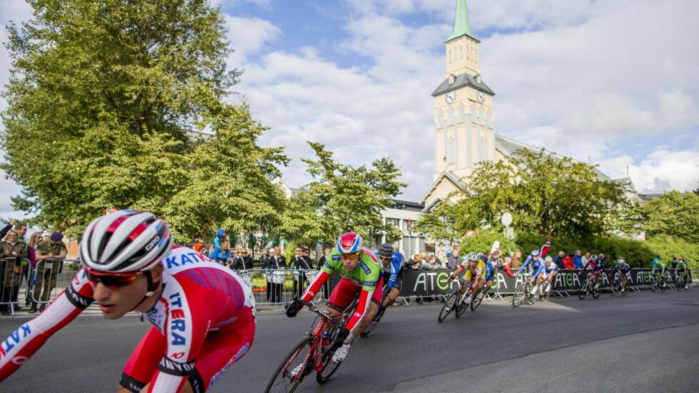 KJEDELIG: Katjusja og Alexander Kristoff skulle helst vært foruten dopingmistankene mot enkelte av lagets ryttere. Foto: Vegard Wivestad Grøtt / NTB scanpix