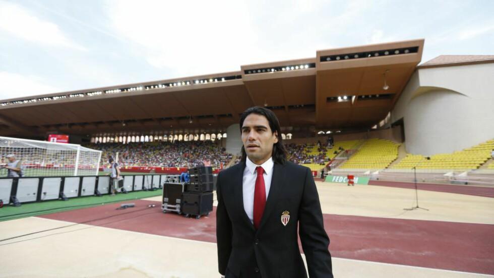 BLIR KLAR I KVELD:  Radamel Falcao er på vei til Manchester United. Foto: NTB Scanpix