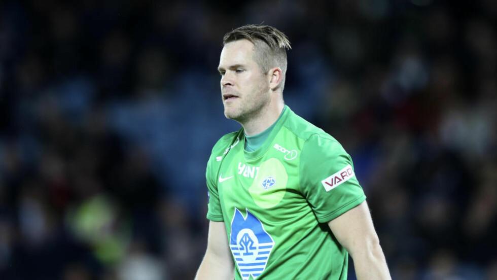 FORLATER MOLDE: Espen Bugge Pettersen skal spille for Strømsgodset de to kommende sesongene. Det offentliggjorde Drammensklubben fredag. Foto: Terje Pedersen / NTB scanpix