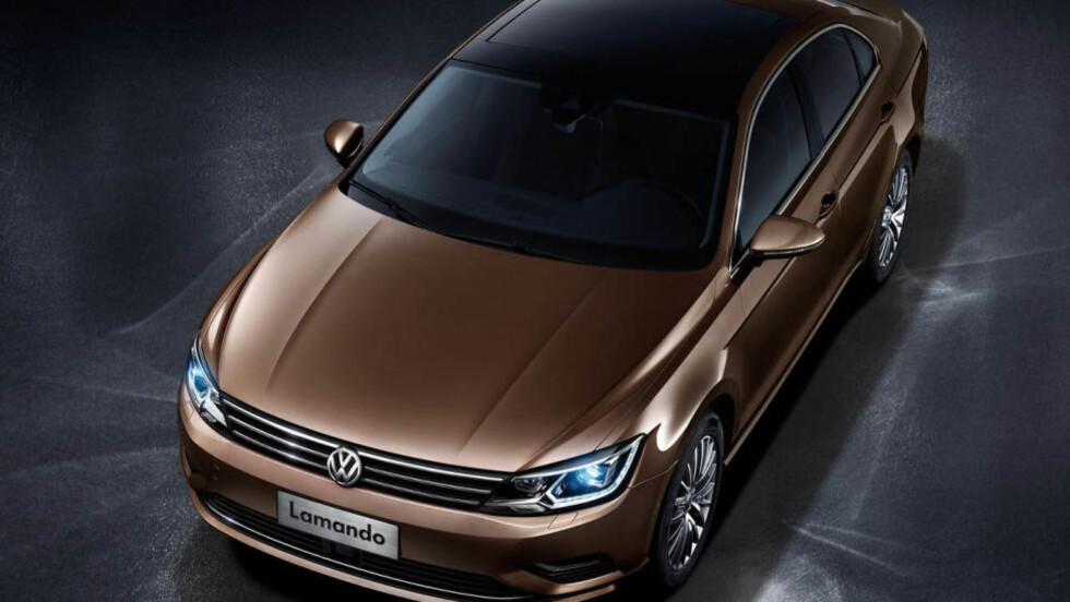 UTEN TVIL EN VW: Men hva er greia med Lamando-navnet? Foto: VOLKSWAGEN