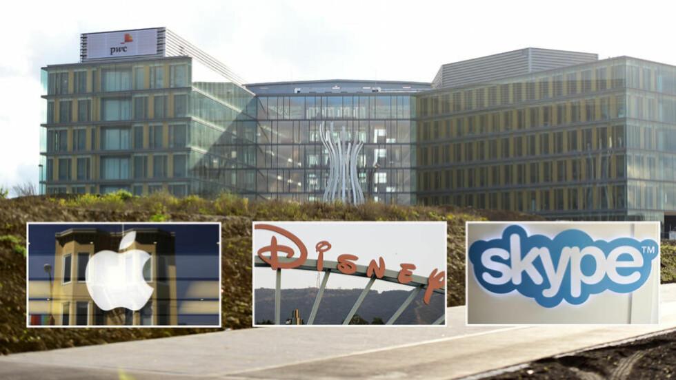 STORE AVSLØRINGER:  Mannen som skal ha lekket over 28 000 dokumenter fra firmaet Pricewaterhouse Coopers (PwC) i Luxembourg fra september 2010 til juni 2012 er nå siktet for tyveri, hvitvasking og lekkasje av handelshemmeligheter, Apple, Skype og Disney skal være involvert ifølge flere internasjonale medier. Foto: Reuters / NTB Scanpix.