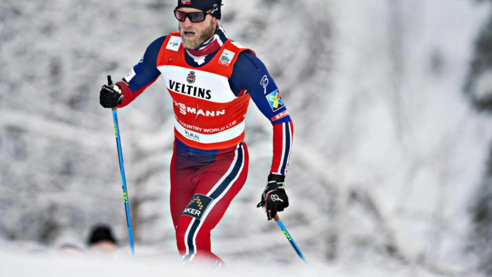 VANT: Martin Johnsrud Sundby vant dagens 15-kilometer klassisk. Foto Hans Arne Vedlog / Dagbladet