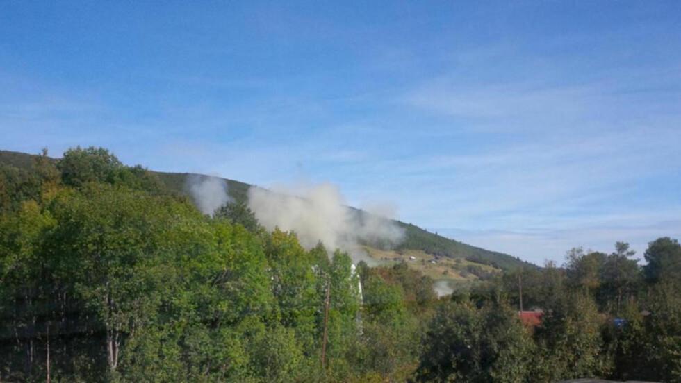 RYKER: Tre personer omkom etter en sprengningsulykke ved en byggeplass i Geilo. Foto: Dagbladet-tipser
