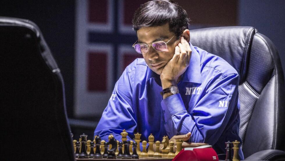 IMPONERER: Viswanathan «Vishy» Anand tapte VM-kampen mot Magnus Carlsen, men under London Chess Classic viste inderen hvor god han er. Her fotografert i Sotsji sist måned. Foto: Lars Eivind Bones / Dagbladet
