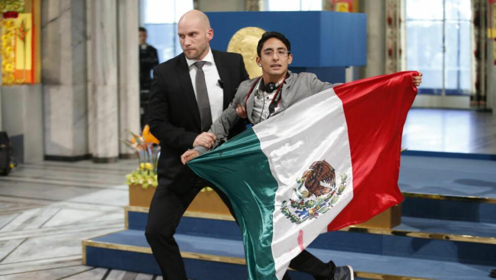 """FÅR IKKE BLI:  Den 21 år gamle Nobel-stormeren Adán Cortés Salas blir sendt ut av Norge. UDI har vurdert søknaden hans som """"åpenbar grunnløs"""" igjen. Utsendelsen går derfor som planlagt. Foto: Cornelius Poppe / NTB scanpix"""