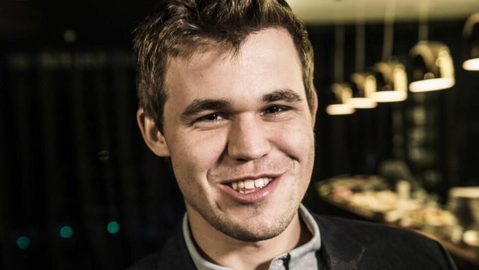 SIER IKKE FRA SEG VM-TITTELEN: Magnus Carlsens manager, Espen Agdestein, avkrefter at verdensmesteren ikke vil spille VM i 2016. Foto: Lars Eivind Bones / Dagbladet