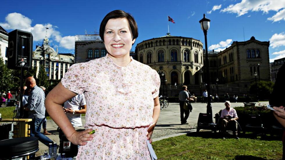 TAR IKKE GJENVALG: Ap-nestleder Helga Pedersen. Foto. Nina Hansen / Dagbladet